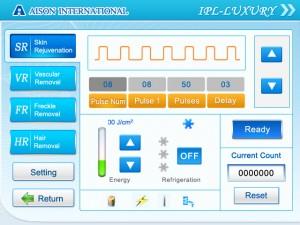 working interface